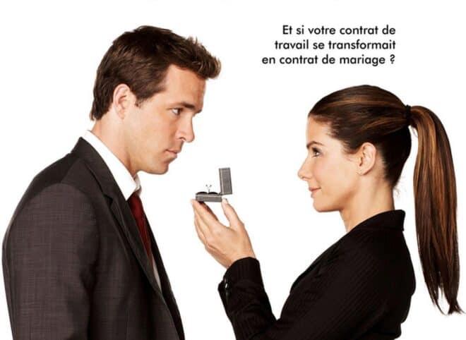 """Affiche du film """"La Proposition"""" (2009)."""