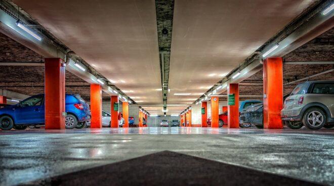 Un parking souterrain. Image d'illustration.