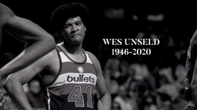 Vidéo hommage à Wes Unseld par l'équipe des Wizards de Washington. (2020)