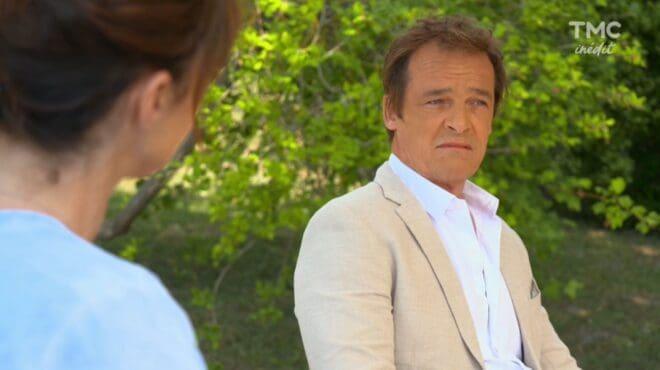 """Jeanne et Peter (Les Mystères de l'Amour saison 23, épisode 7 """"Espoirs et désespoirs"""")."""