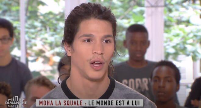 Le rappeur Moha La Squale