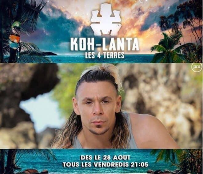 Bertrand-Kamal dans Koh-Lanta