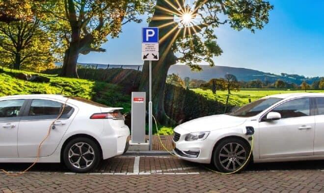 Des véhicules électriques