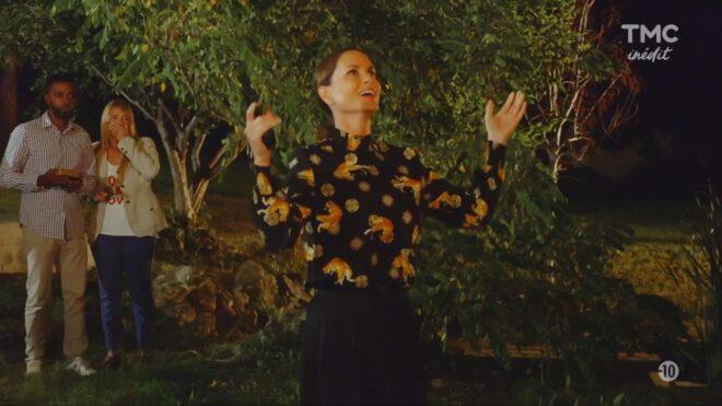 """Ingrid/Émilie (Les Mystères de l'Amour saison 23, épisode 19 """"La main de Dieu"""")."""