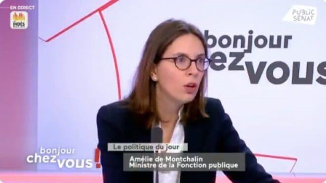 Amélie de Montchalin, ministre de la Fonction publique