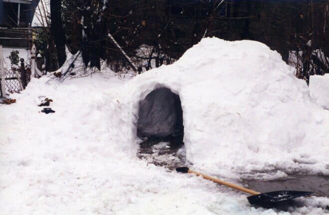 Un igloo. Image d'illustration.